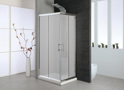 Box doccia con pareti scorrevoli  vetro stampato - MISURE DA 70 A 120