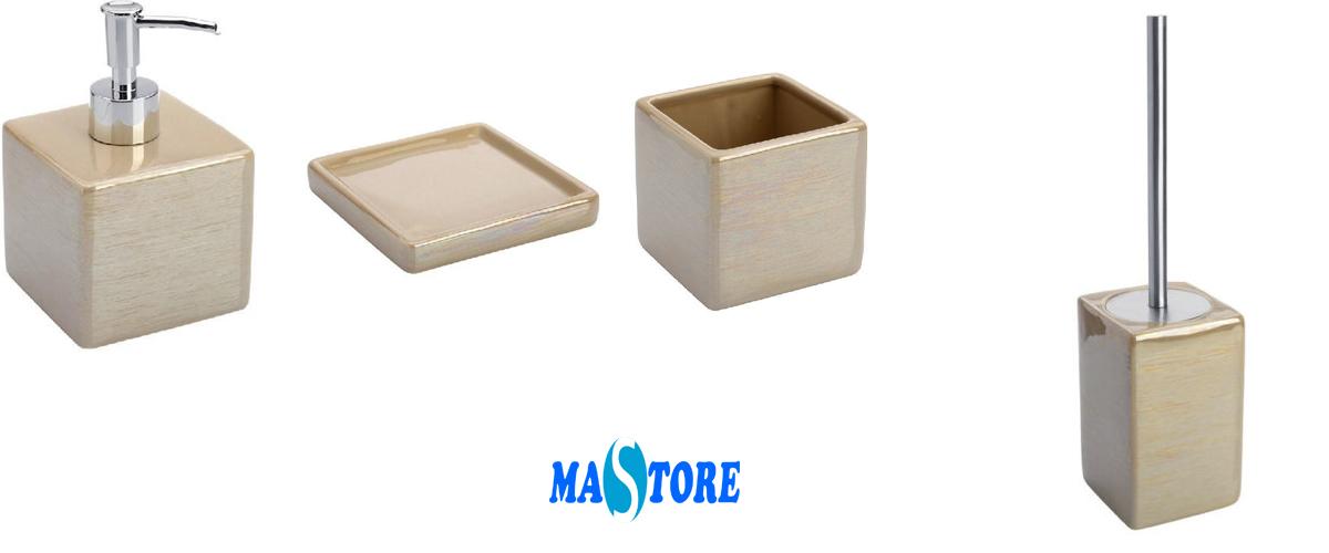 Mastore arredo bagno vendita online set accessori for Accessori bagno online shop