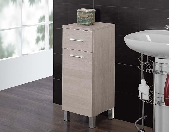 Mastore arredo bagno vendita online base mobiletto bagno in rovere chiaro 33 cm - Arredo bagno semeraro ...