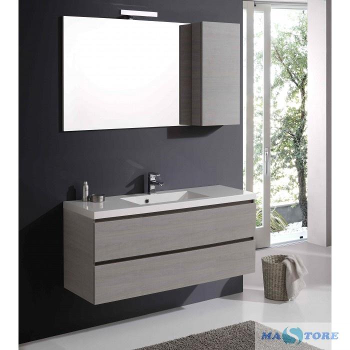 Specchio Armadio Bagno.Mobili Da Bagno 120 Cm