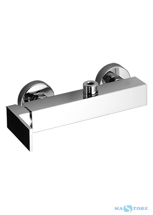 New_Space Miscelatore monocomando per doccia esterno predisposto per colonna doccia, senza colonna,New Space