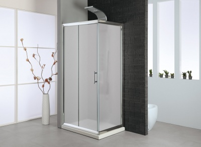 Parete doccia fissa vetro stampato - MISURE DA 70 A 90
