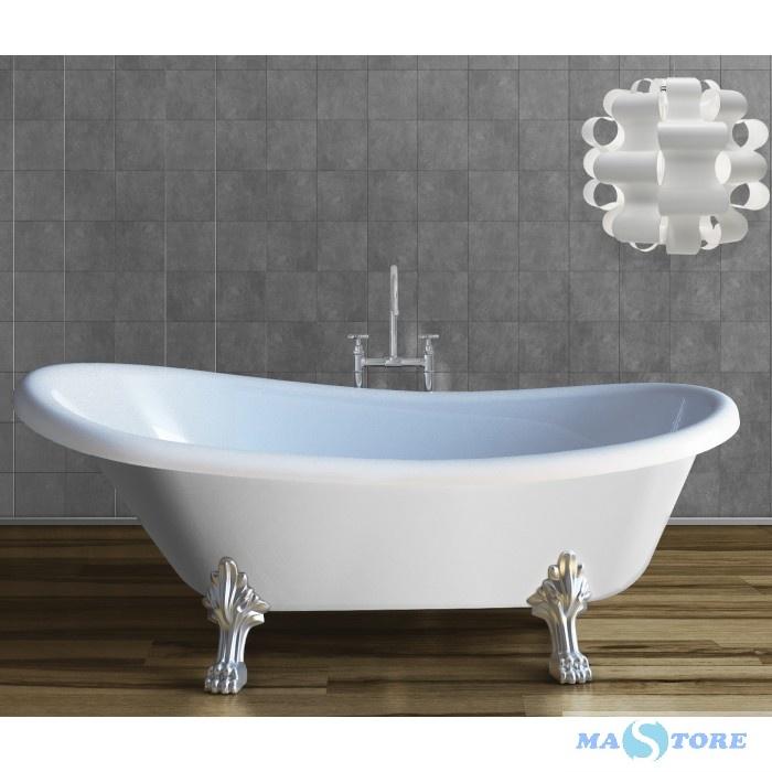 Vasche Da Bagno D Arredo.Vasca Da Bagno Completa Di Piedi In Stile Classico